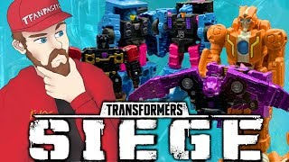 REVEALED: Transformers Siege RUNG! Micromaster Combiner Squad, 10-Pack, Ratbat & more | TF-Talk #227