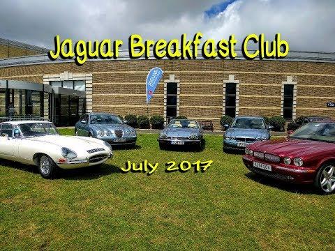 Jaguar Breakfast Club July 2017