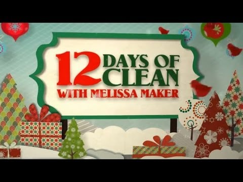 The 12 Days of Clean! (Clean My Space)