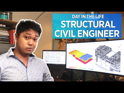 Day In The Life Of A Civil Engineer - Structural Engineering Work From Home