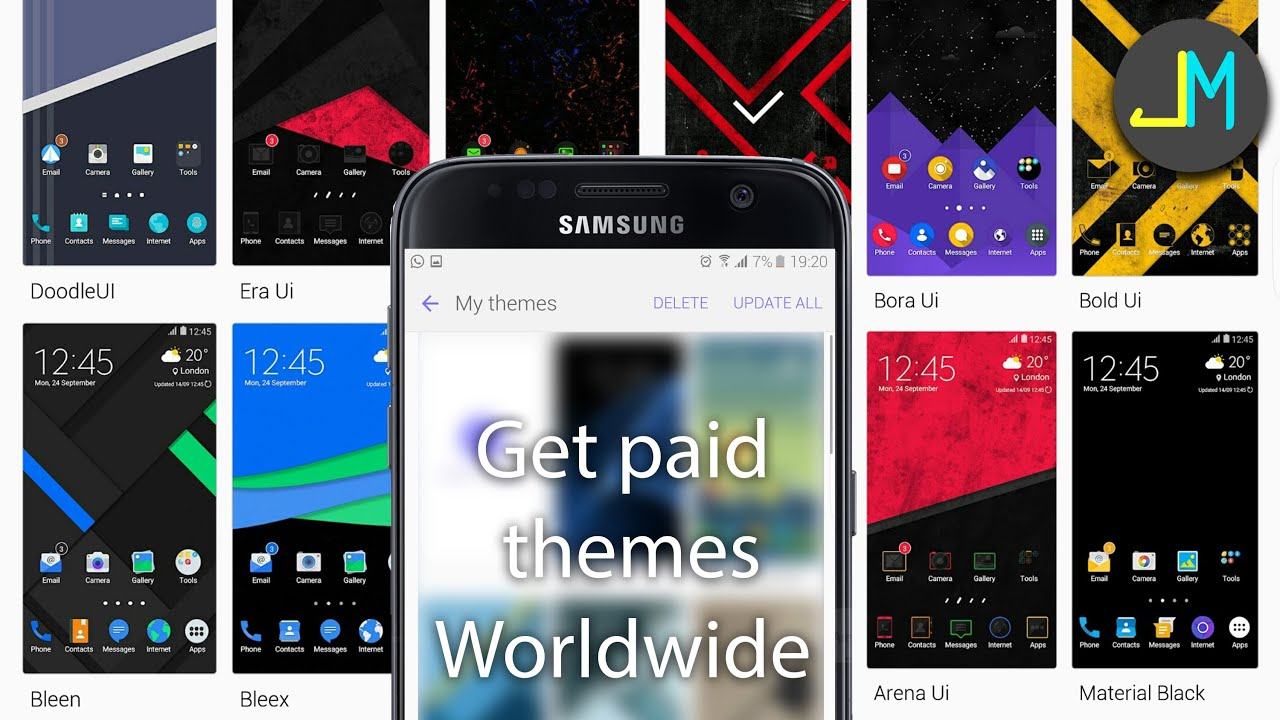240x400 themes for samsung