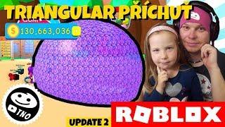NEJLEPŠÍ TRIANGULAR ŽVEJKA - [TRADING] Bubble Gum Simulator| Roblox | Tatínek a Barunka CZ/SK