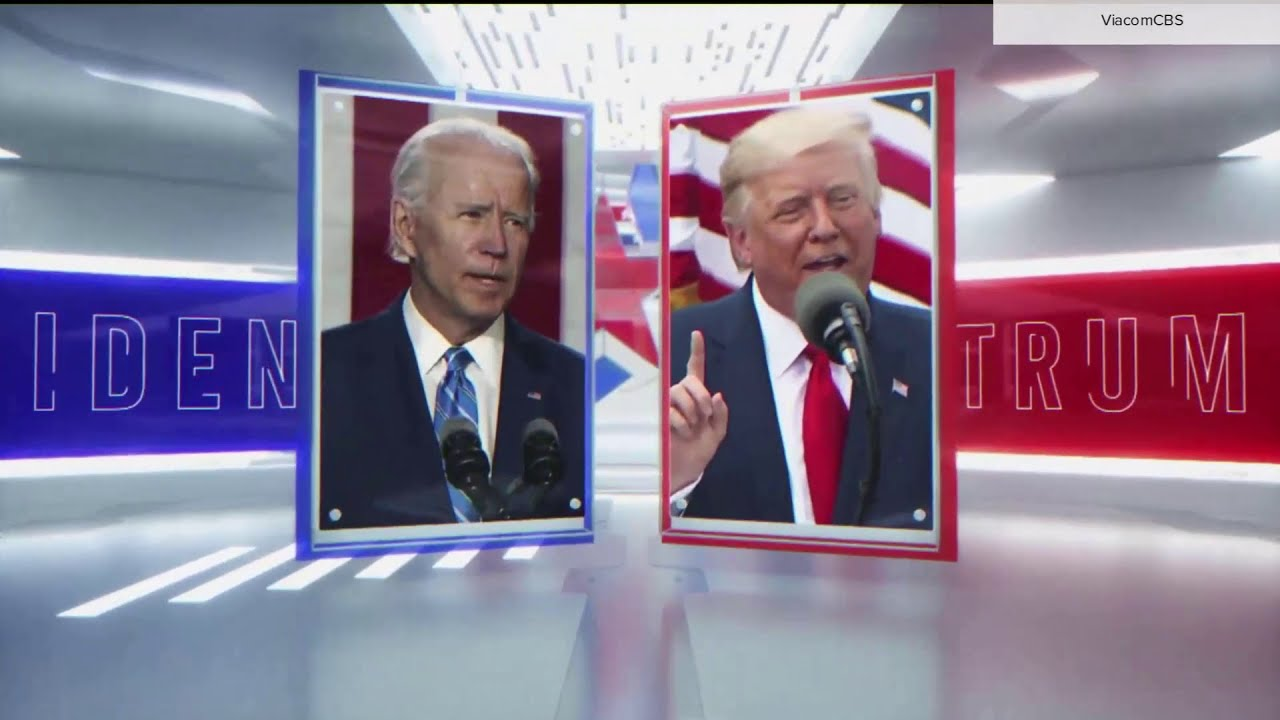 CBS News 'America Decides 2020' election night open