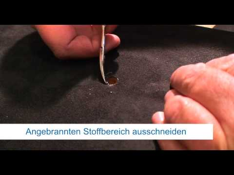 Repair Concepts Polstermöbel Sengschadenrparatur - YouTube