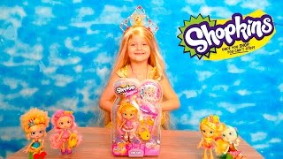 Disney princess Bell unpacks doll shopkins  Принцесса Диснея Белль  распаковывает куклу Shopkins