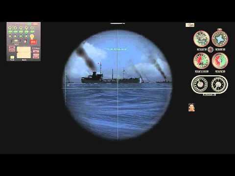 100% realistic Submarine attack merchant