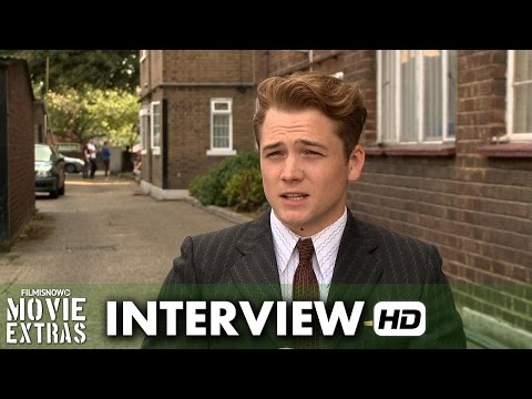 Legend (2015) Behind the Scenes Movie Interview - Taron Egerton is 'Teddy Smith'