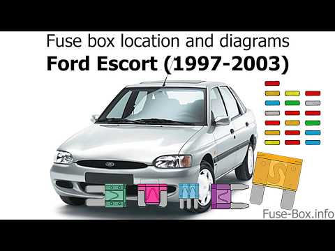 fuse box location and diagrams ford escort 1997 2003 youtube fuse box location and diagrams ford