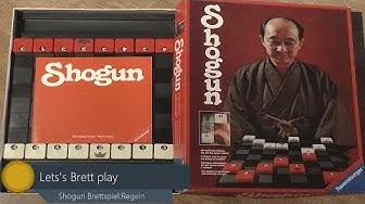 Shogun das Brettspiel - Spielregeln - [German]