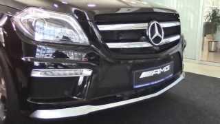 Обзор Mercedes-Benz GL 63 AMG.