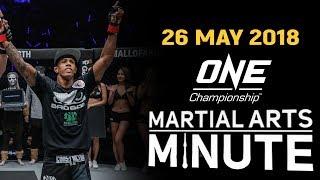Martial Arts Minute   26 May 2018
