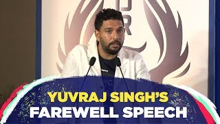 \'Cricket has taught me never to give up till my last breath\' - Yuvraj