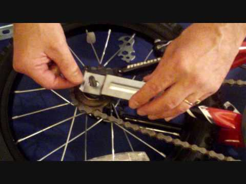 Childs Bike Assembly Fitting Stabilisers Youtube