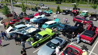 Classic Car Museum Virtual Tour (INTERIOR, EXTERIOR, DRONE! 4K)