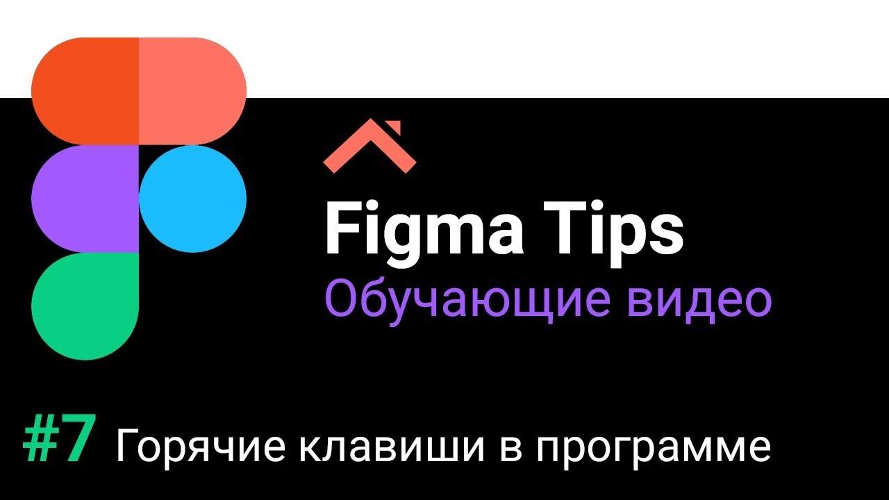 Figma Tips: Горячие клавиши в программе