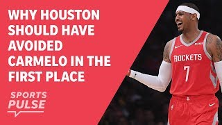 Why Houston should have avoided Carmelo in the first place thumbnail