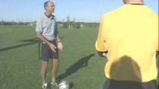 Vision Training Soccer Camps - Dribbling and Seeing The Field