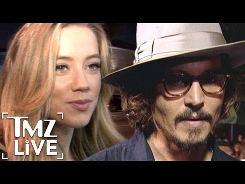 Johnny Depp & Amber Heard Divorce (TMZ Live)