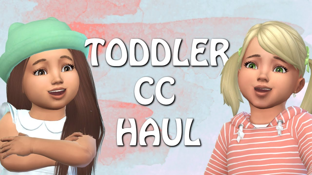 THE SIMS 4: TODDLER CC HAUL+ CC LINKS