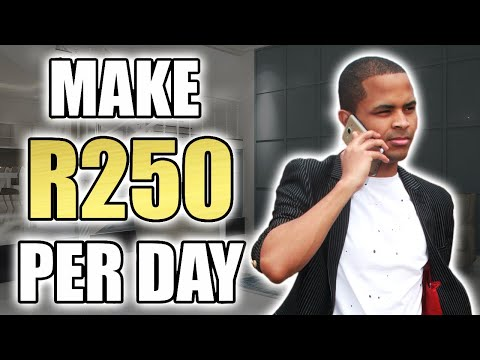 How To Make Money Online In South Africa - Make R 250 Per Day With M4JAM