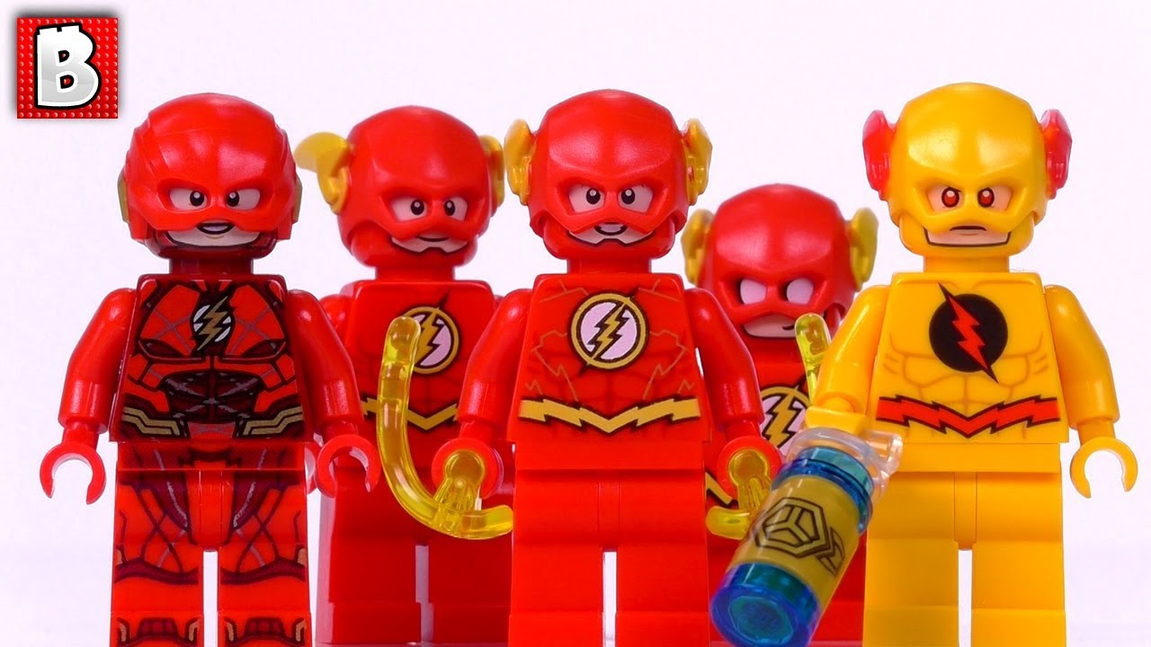 Every Lego The Flash Minifigure Ever Made Collection Review