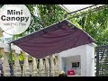 PVC PIPE USAGE | DIY MINI CANOPY