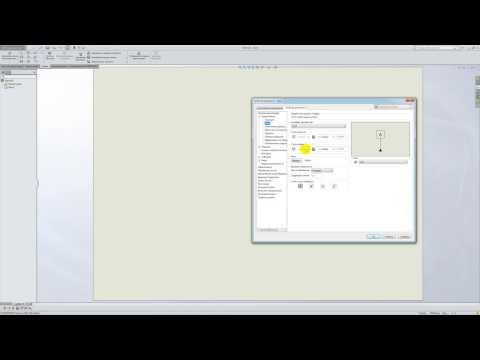 Solidworks. Урок 5.1. Настройка под ГОСТ ЕСКД - создание чертежа