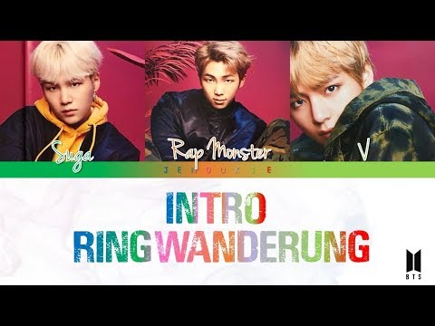 BTS (방탄소년단) - 'INTRO : Ringwanderung' [Color coded Lyrics] Kan|Rom|Eng