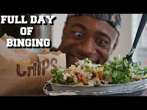 Full Day of EATING | POST BODYBUILDING SHOW BINGE