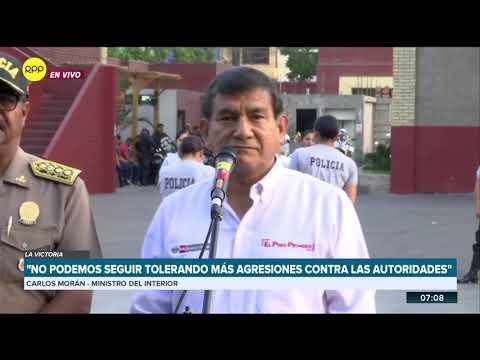 Policía trabaja en la identificación de los agresores del fiscal José Domingo Pérez