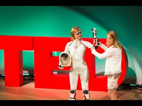 How to create a space suit   Dava Newman