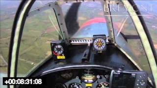 Mayday - Yakovlev Yak-50, Engine out forced landing video - www.AviationInspector.com