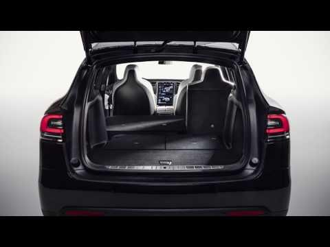 Tesla Model X 7-Seater Storage