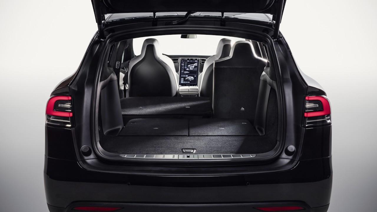 8 Seater Vehicles >> Tesla Model X 7-Seater Storage - YouTube