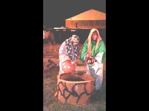 Bethlehem Live Nativity Scene Mannequin Challenge