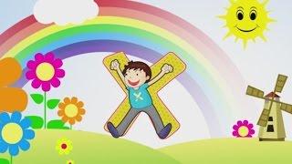 Zufallsbuchstaben aus dem Alphabet lernen für Kinder und Kleinkinder Teil1