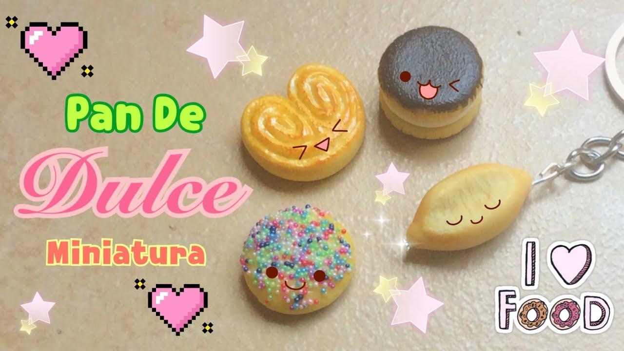 ¡ Haz Pan Miniatura ! / Como hacer pan de dulce / Pan Kawaii