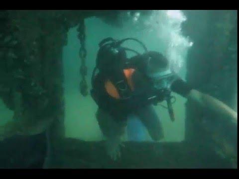 Дайвинг в Крыму. Подводные штольни. Орджоникидзе.