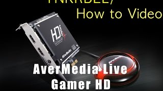 Single Streaming PC set up using the AverMedia Live Gamer HD (c985)