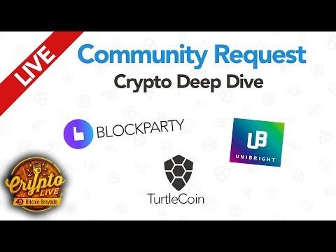Community Coin Deep Dive: $ BOXX $ UBT $ TRTL - Crypto Live Ep. 17