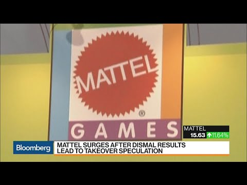 Mattel Surges After Bleak Results Spur Takeover Talk