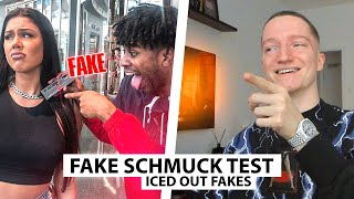 Justin reagiert auf Iced Out FAKE Check.. | Reaktion