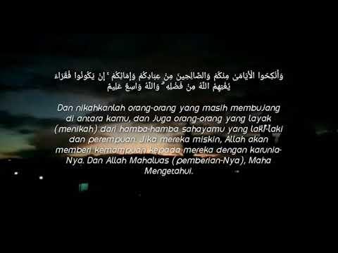 Penjelasan al Quran : surat an-Nur ayat 32