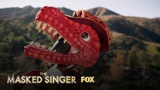 The Clues: T-Rex | Season 3 Ep. 9 | THE MASKED SINGER