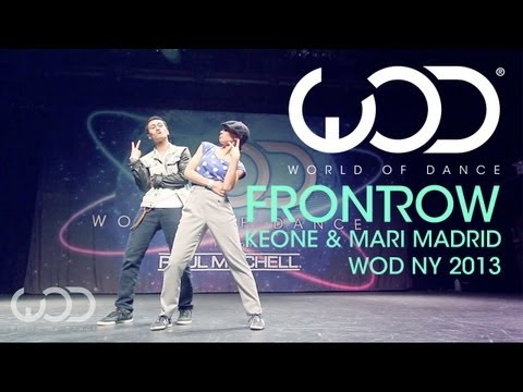 Keone & Mari Madrid | World of Dance | FRONTROW | #WODNY 2013