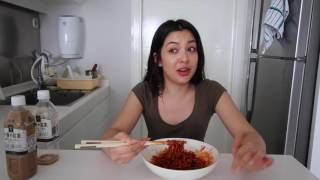 Brutal Spicy Fire Noodle Prank thumbnail