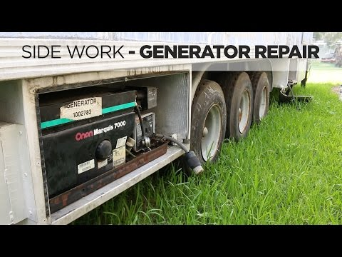 Onan Generator Troubleshooting and Repair