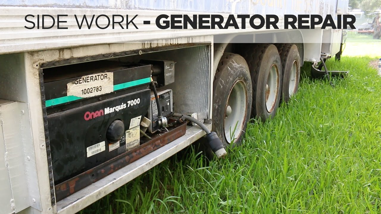 Onan Generator Troubleshooting And Repair Youtube Rv Schematics