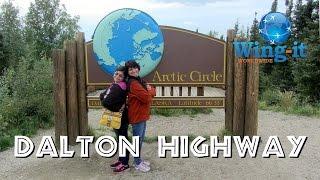 Travel Report:  Driving Alaska 11 (Dalton Highway) To The Arctic Circle