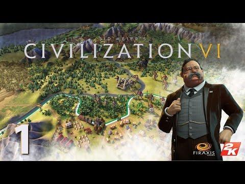 Sid Meier's Civilization  VI - Primeros Pasos Con Teddy Roosevelt - Gameplay En Español